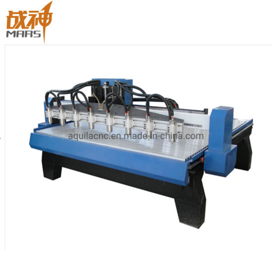 Zs2018 Hot-Sell 2.2kw Water-Cooling Multi Spindles Wood CNC Router Machine